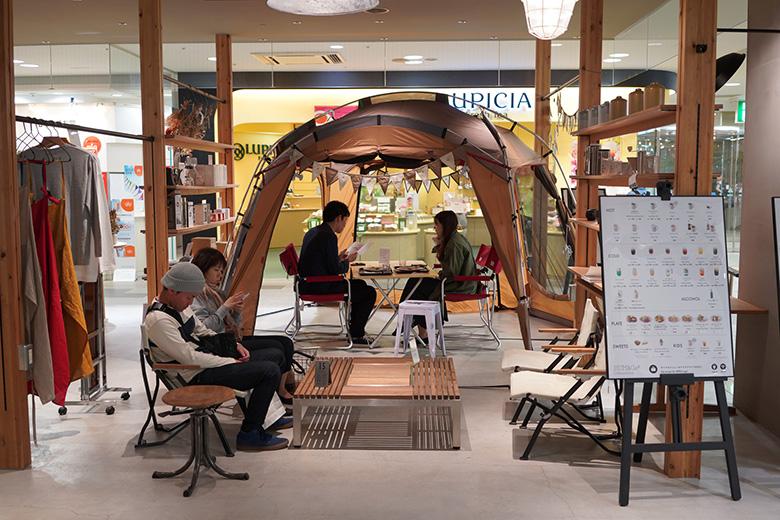 HUM&Go#香林坊アトリオ店にスノーピーク製品