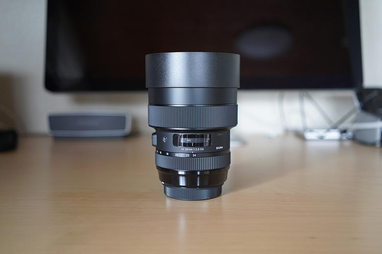 SIGMA 14-24mm F2.8 DG HSM 正面から