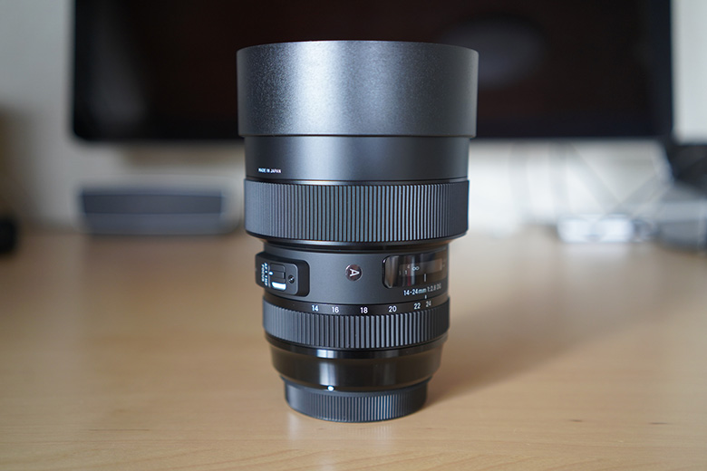 SIGMA 14-24mm F2.8 DG HSM Aマーク
