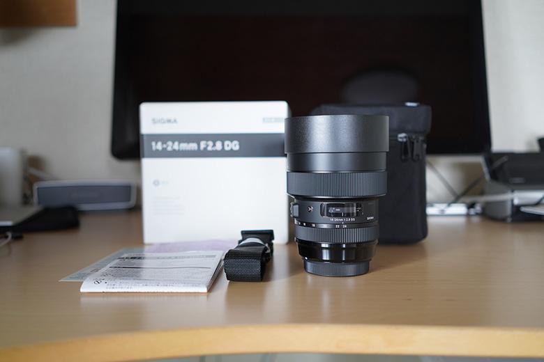 SIGMA 14-24mm F2.8 DG HSM 開封