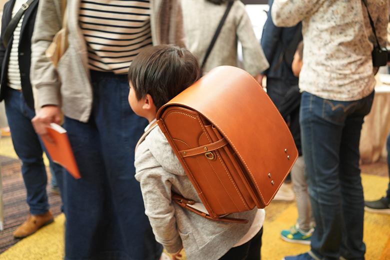 土屋鞄のランドセル ヌメ革