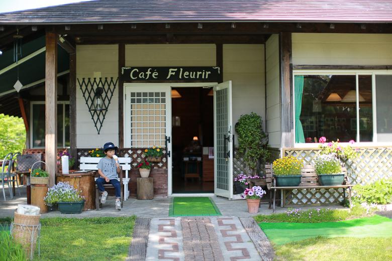 戸隠キャンプ場のカフェ