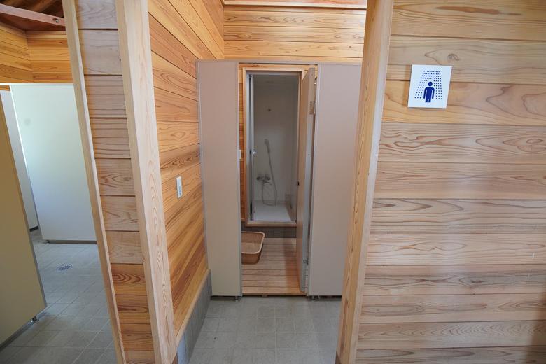 牛岳パノラマオートキャンプ場 きらら シャワー