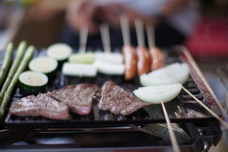 牛岳パノラマオートキャンプ場 きらら 夕食