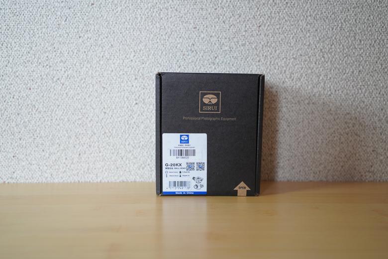 SIRUI 自由雲台 G-20X 外箱
