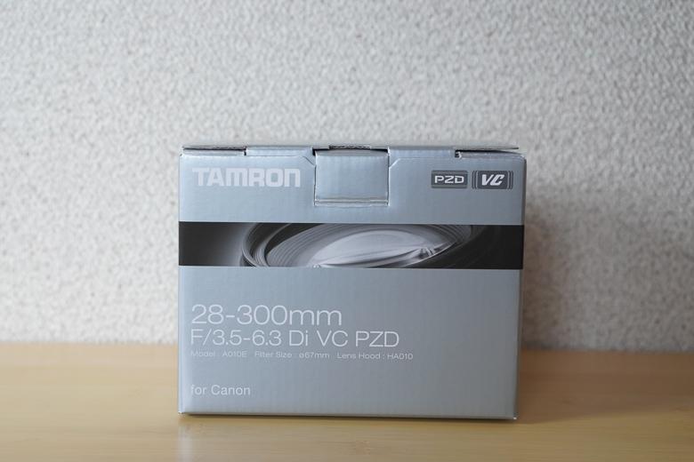 TAMRON 28-300mm F/3.5-6.3 Di VC PZD 外箱