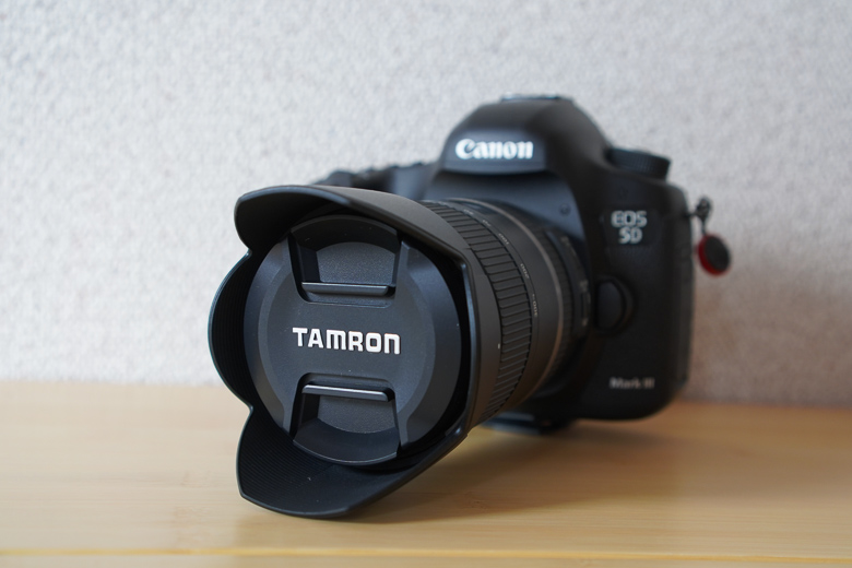 TAMRON 28-300mm F/3.5-6.3 Di VC PZD CANON 5D mark3に取り付け