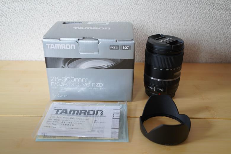 TAMRON 28-300mm F/3.5-6.3 Di VC PZD 付属品
