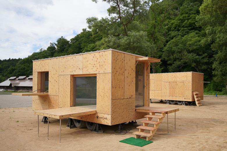 利賀国際キャンプ場 住箱