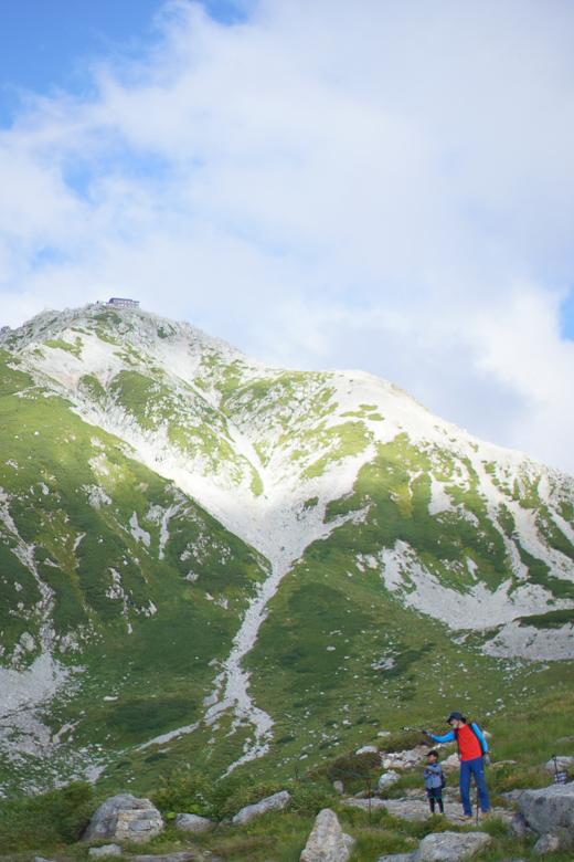 立山山頂から下山スタート