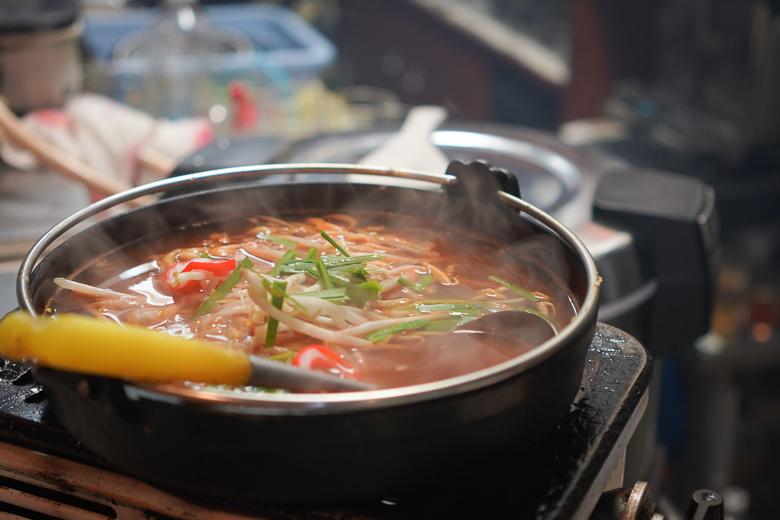 焼肉 光燁の地獄鍋