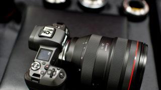 EOS RとRF28-70mm F2L USM