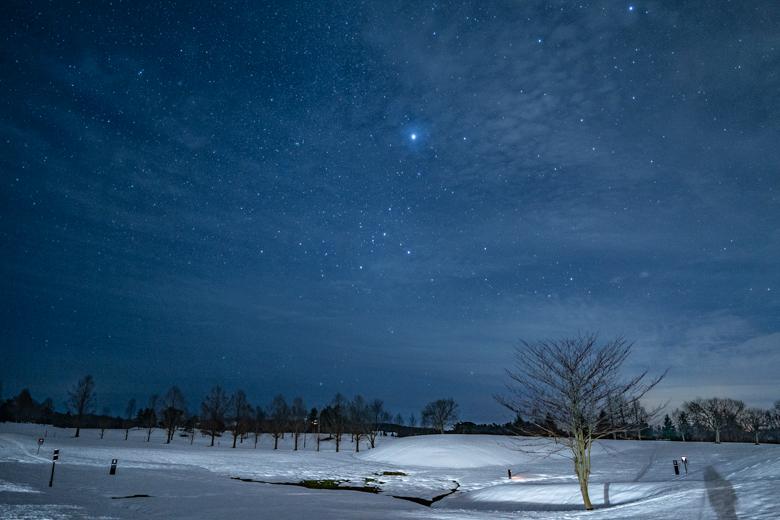 スノーピーク Headquartersの星空