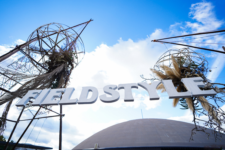 FIELDSTYLE 2018 看板