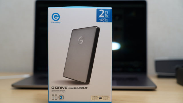 G-Technology 2TB G-DRIVE Mobile USB-C Portable Hard Drive