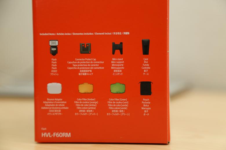 HVL-F60RM 外箱