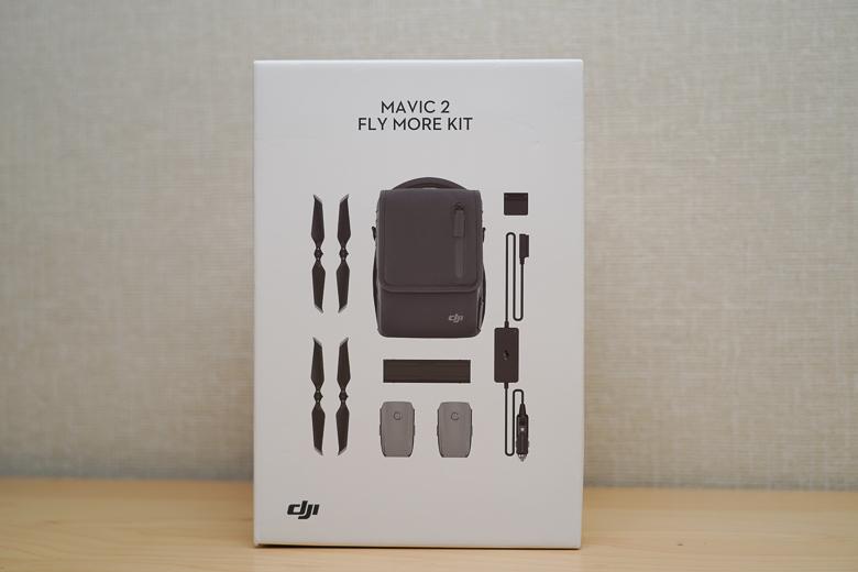 Mavic 2 Fly Moreキット 外箱