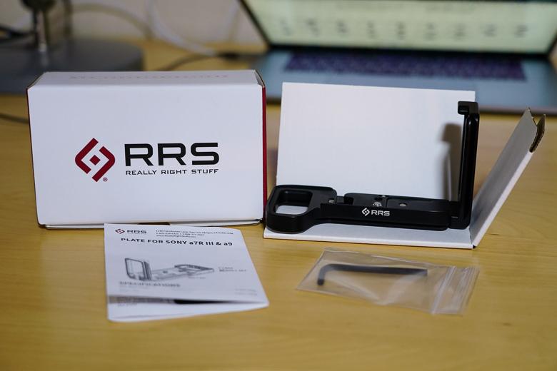 RRS SONY a7iii用L型プレート 付属品