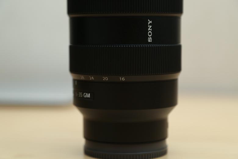 ソニー FE 16-35mm F2.8 GM ズームリング