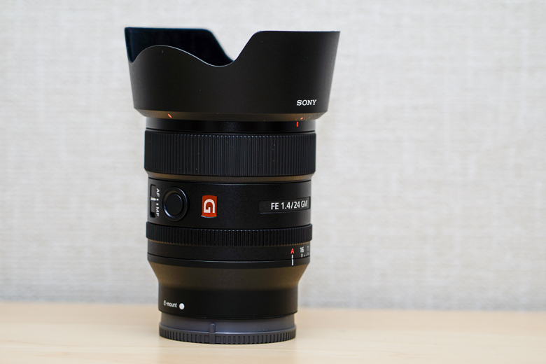 SONY FE 24mm F1.4 GM レンズ本体
