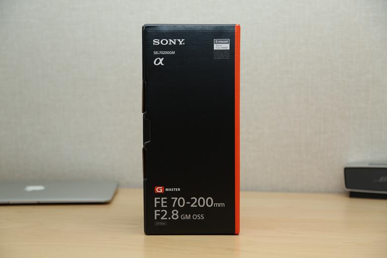 SONY FE 70-200mm F2.8 GM OSS 外箱