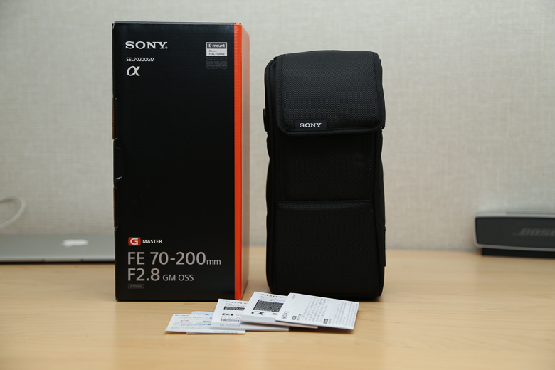 SONY FE 70-200mm F2.8 GM OSS 付属品