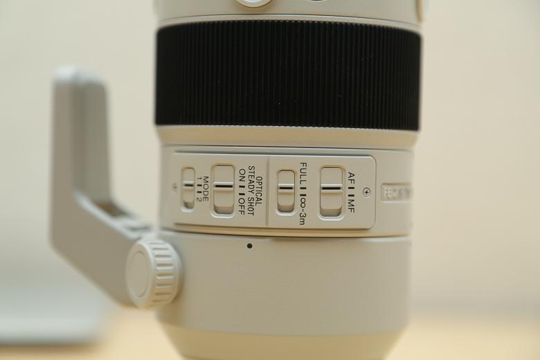 SONY FE 70-200mm F2.8 GM OSS スイッチ類