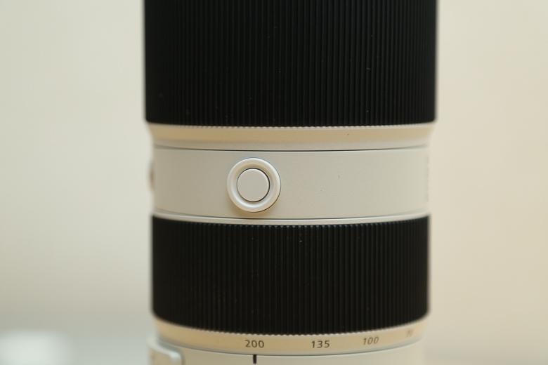SONY FE 70-200mm F2.8 GM OSS フォーカスホールドボタン