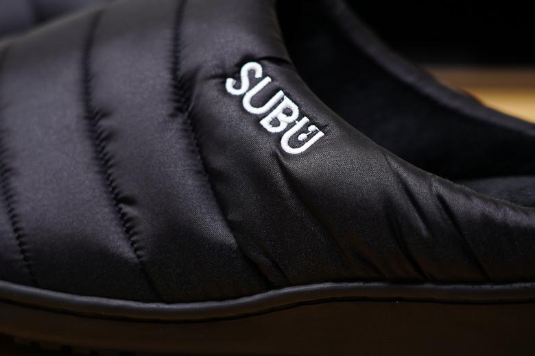 SUBU サンダル ロゴ