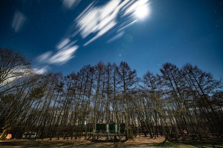 北軽井沢スウィートグラス 星空写真