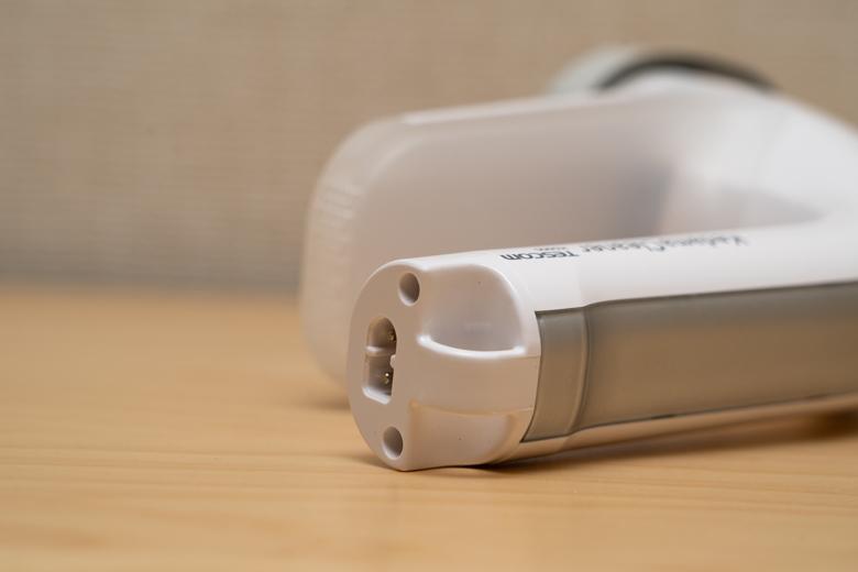 テスコム 毛玉クリーナー ホワイト KD900-W 充電用ソケット