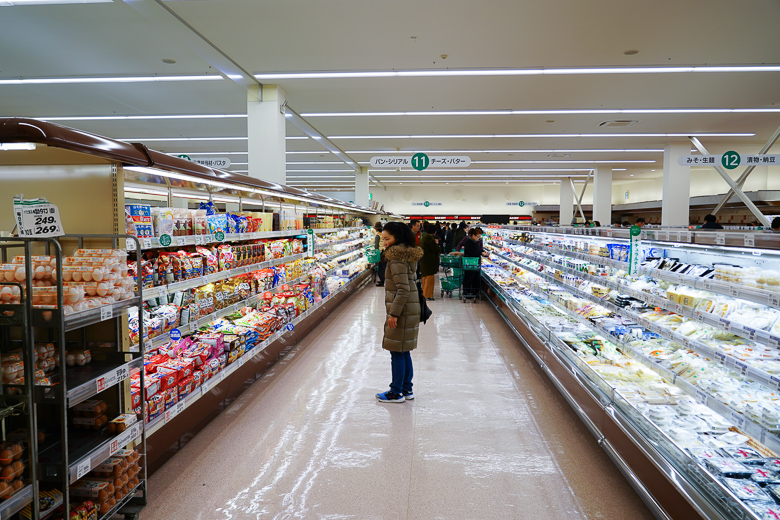 ツルヤ軽井沢店の店内写真