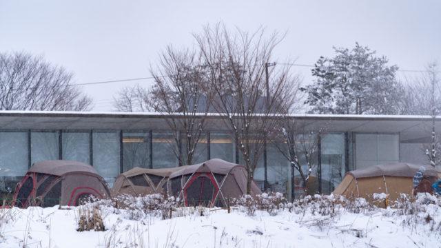 スノーピーク Headquartersキャンプサイト
