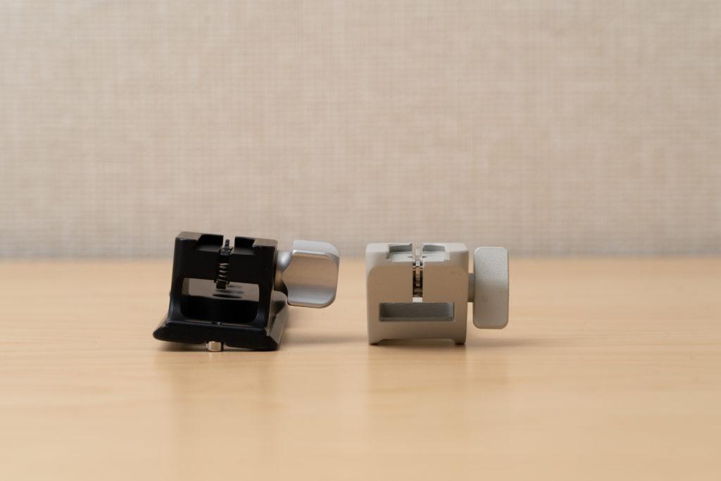 三脚座(LCF-101)とSONY FE 70-200mm F2.8 GM OSS純正三脚の比較