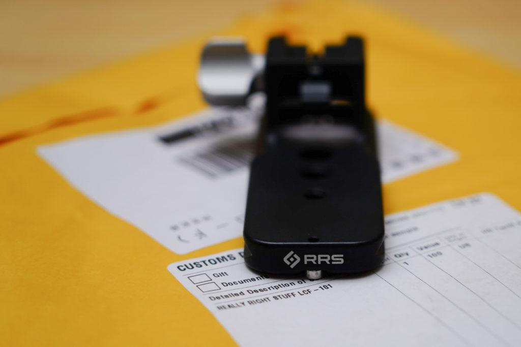 RRSの三脚座(LCF-101)。SONY FE 70-200mm F2.8 GM OSS用