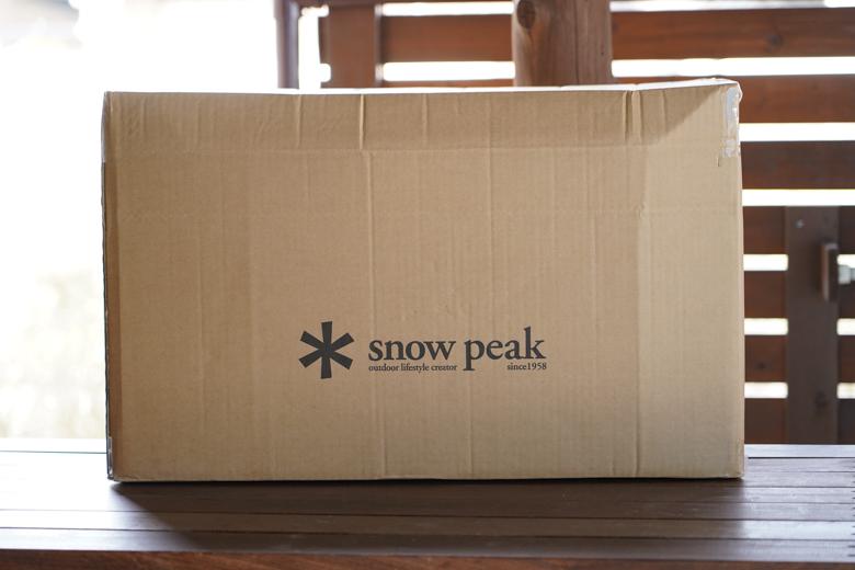 スノーピーク テント乾燥サービスから戻ってきた状態