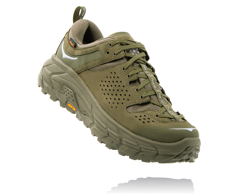 HOKA ONE ONE TOR ULTRA LOW WP JP オリーブ
