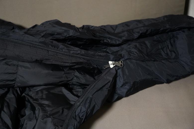 山渓×NANGA オーロラ600DX ロング オールブラック