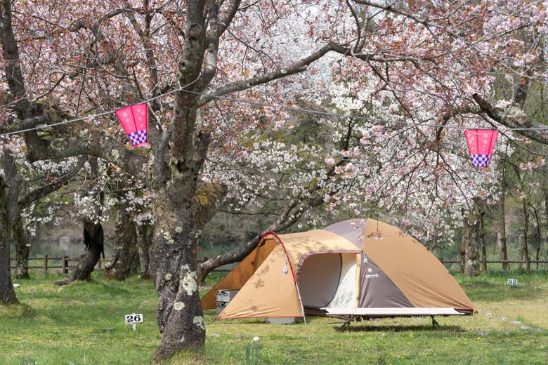 上和田緑地キャンプ場 アメニティドーム