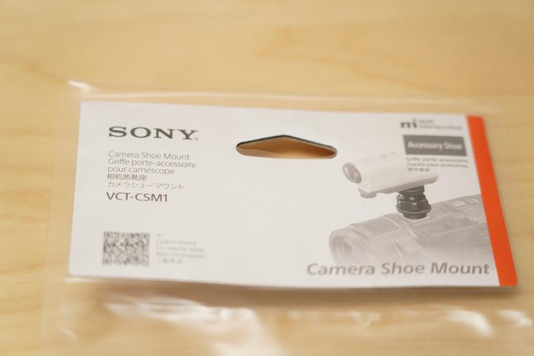SONY カメラシューマウント(VCT-CSM1)
