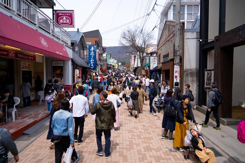 旧軽井沢観光