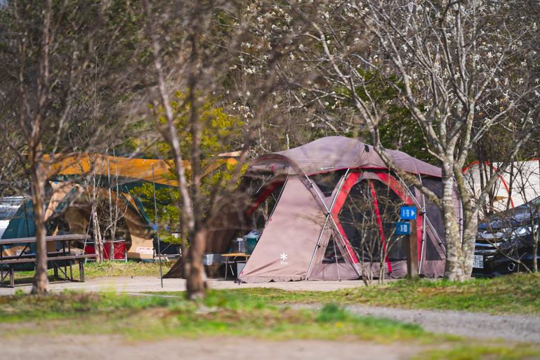 北軽井沢スウィートグラスでキャンプ