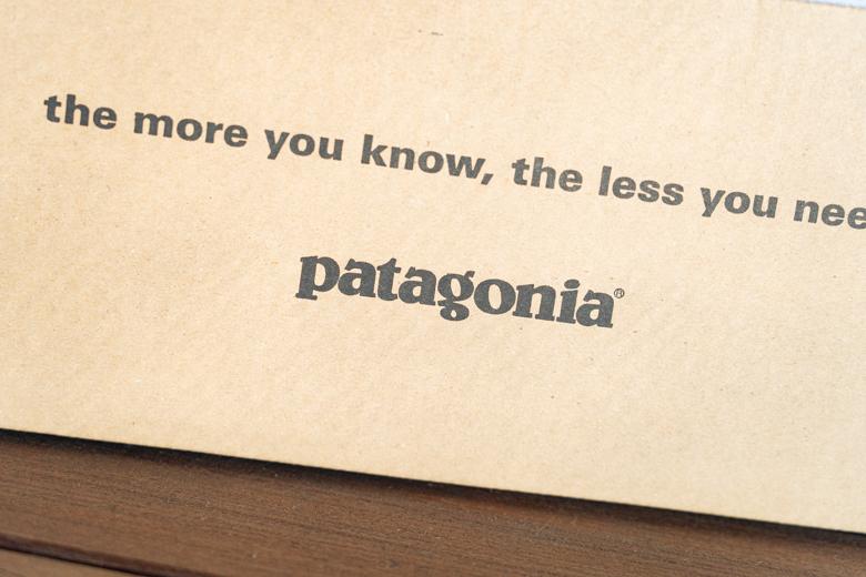 パタゴニア パタゴニア ロスガトスクルーが入っていた外箱