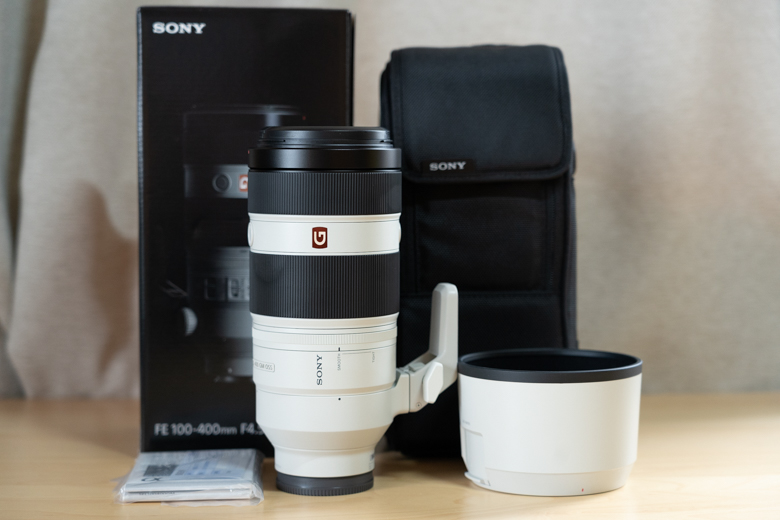 FE 100-400mm F4.5-5.6 GM OSS(SEL100400GM)付属品