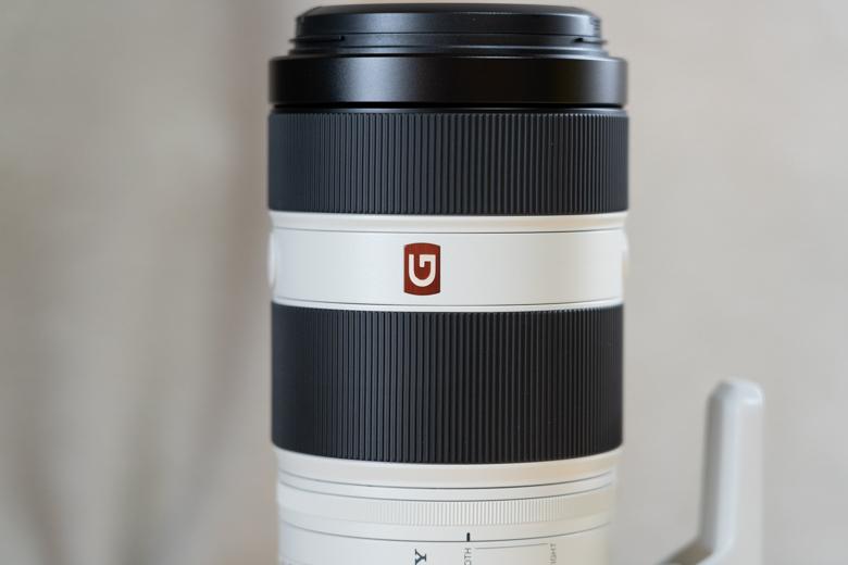FE 100-400mm F4.5-5.6 GM OSS(SEL100400GM) G Masterロゴ